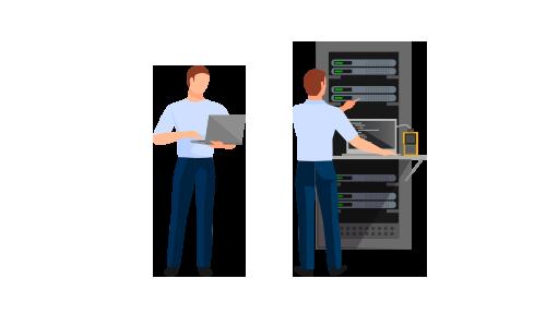 Webhosting Backup IT Security